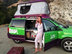 Campervan life! Free Campsite California, Big Sur Coast