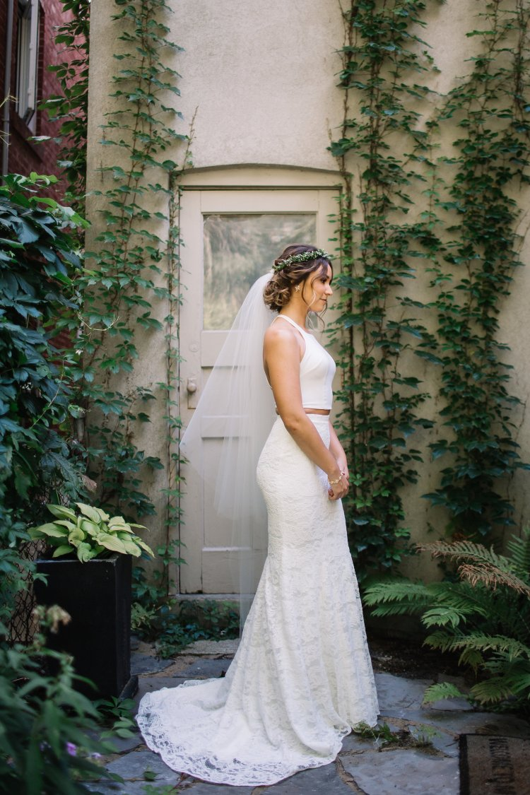 Ines Skirt by Theia Bridal - lace bridal skirt