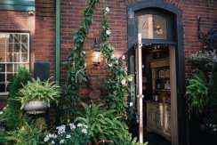 Bohemian chic wedding at caffino ristorante in Toronto